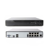 caméras ip 3mp achat en gros de-8CH POE NVR Enregistreur vidéo réseau POE NVR (1080p / 3MP / 4MP) 48V Alimentation sur Ethernet NVR 8 canaux pour caméra POE