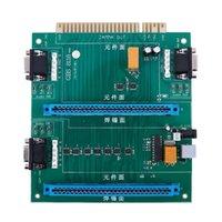 пульты дистанционного управления оптовых-GBS-8118 Аркадная игра Multi JAMMA Переключатель 2 в 1 для пульта дистанционного управления JAMMA PC Board Switch # 8