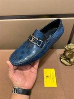 Wholesale handmade leather moccasins for sale - Group buy 19SS Big Size Mens Shoes Casual Luxury Brands Loafers Men Moccasins Italian Handmade Original Boat Shoes Men Genuine Leather YECQ4