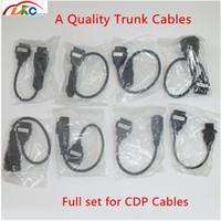 cable multidiag al por mayor-El mejor precio Un camión Calidad del cable del sistema completo 8 Camiones conectar los cables para CDP CDP vd DS150E para delphis multidiag Pro