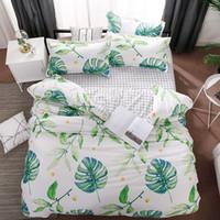 Wholesale orange comforter bedding sets resale online - Tropical Girl Boy Kid Bed Cover Set Duvet Cover Adult Child Bed Sheets And Pillowcases Comforter Bedding Set TJ