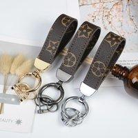 tasarımcı marka çanta kadın toptan satış-Lüks Anahtar Toka Moda Tasarımcısı Anahtarlık Marka El Yapımı Marka Araba Deri Anahtarlık Erkek Kadın Çantası Charm Kolye Aksesuarla ...