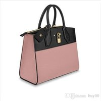 Wholesale womens luxury fashion purses resale online - Womens LVLV designer handbags luxury Lady Bags New Fashion Handbag Genuine Leather backpack Shoulder Bag Authentic Original Handbags Purses