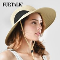 6ab4b633f49a8 wholesale Safari Sun Hats for Men Women Boonie Wide Brim Bucket Waterproof  Packable UPF 50+ Fishing Hiking Hat SH043