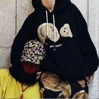 panda hoodies sweatshirt toptan satış-Lüks Marka Erkekler Kadınlar PA Palmiye Melek Öldürülmesi Ayı Decap Kazak Hoodie Kazak Kapüşonlular Spor Kapüşonlular Harf baskı yazdır