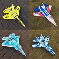 ingrosso ali d'aereo-Ala fissa Modello di aeroplano Anti caduta Giocattoli Magic Aircraft Modles Multi colori Alpinia Kids Girl Boy 23sh D1