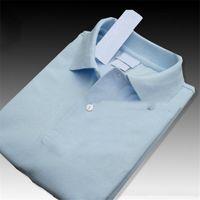 marka polo kadın toptan satış-Yeni Erkek Tasarımcı Marka Yaz Polo Tops Nakış Erkek Polo Gömlek Moda Gömlek Erkek Kadın Yüksek Sokak Rahat Üst Tees Boyut S-4XL