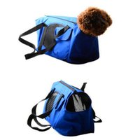 Wholesale puppy carrier tote for sale - Group buy S L Pet Cat Dog Carrier Backpack For Outdoor Travel Tote Bag for Puppy Dog Bag Shoulder Carrier Breathable Pet Supplies