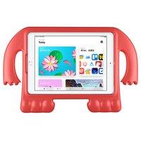 yeni ipad vakaları toptan satış-Yeni tasarım EVA Çocuklar Koruyucu Darbeye Kapak Kılıf Tablet Için iPad 2019 Tüm Modeller Için