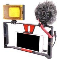 teçhizat video toptan satış-Smartphone Film Yapımı Kayıt Vlogging Video Rig Vaka, Telefon Filmler Cep Telefonu Film-Maker Kameramanların için Sabitleyici Dağı