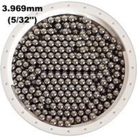 pulverizadores usados al por mayor-5/32 '' (3.969mm) 304 bolas de acero inoxidable G100 para rodamientos, bombas, válvulas, pulverizadores, utilizados en la industria alimentaria, aeroespacial y militar