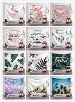 ingrosso design della camera da letto della spiaggia-17 disegni casa decorazione arazzo appeso a parete murale unicorno stampato spiaggia asciugamano scialle tovaglia bohemien mandala stuoia di yoga per camera da letto