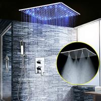 juegos de grifos de ducha chorros al por mayor-Ducha cuarto de baño LED Set 20