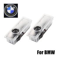 Wholesale bmw e65 lights resale online - 2pcs Car Door Logo Light Car LED Door Warning Light Welcome Logo Projector For BMW M3 M5 E60 E90 F10 E63 F30 E64 E65 E86 E92 E85 E93