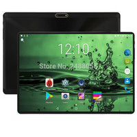 pad 4g großhandel-2019 Android 8.0 10 Zoll Octa Core Tablette 3G 4G LTE Telefonanruf Tablette 4GB 64GB Doppel SIM 5.0MP Bluetooth Wifi GPS Tablets 10 Auflage