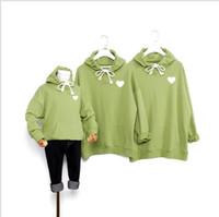 Wholesale kids parents clothes resale online - Kid Mens Designer Autumn New Hoodies Parent child Clothing Hooded Parent child Luxury Sweater Men Women Kids Hoodies Hip Hot Sell