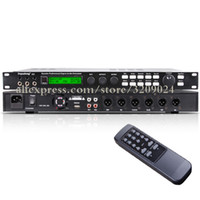 Wholesale audio processors for sale - Group buy Digital Processor speaker management audio processor stage audio equipment KTV private room computer interface debugging vocal