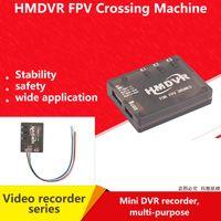 fpv audio video al por mayor-HMDVR Mini grabador de audio y video digital 30 fps para FPV Drone Quadcopter Q250 F1639 Grabador de video y audio Pantalla gráfica