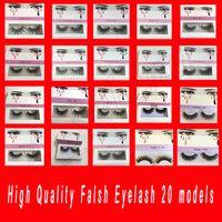 Wholesale synthetic lash extensions resale online - Famous False Eyelashes models Eyelash Extensions handmade Fake Lashes Voluminous Fake Eyelashes For Eye Lashes Makeup