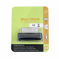 escáner obd2 eobd al por mayor-MINI OBD2 V4.0 El nuevo escáner de códigos ELM327 OBDII OBD2 EOBD para iOS / Android / Windows