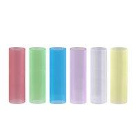 karren inhaber großhandel-Authentische LTQ Silikon-Schutzrohr für Dicköl Cartridges Glas 0,5 ml 1,0 ml Vape Carts Deckelhalter Wrappers-Kasten-Hülsen