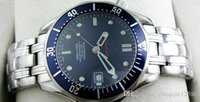 ingrosso james bond guarda blu-2016 Classic Luxury Mens Professional 300m James Bond 007 quadrante blu zaffiro automatico orologi da uomo