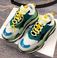 итальянские шнурки для обуви оптовых-2019 итальянский модный бренд torrey мужская и женская круглая верхняя цветная шнуровка кроссовки родились