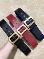 marcas de moda para mujer cinturones al por mayor-2019 Cinturón de diseño de alta calidad Ancho de banda 5 cm Señora Fashion Belt Deluxe Brand Belt 100-125 cm Entrega gratuita