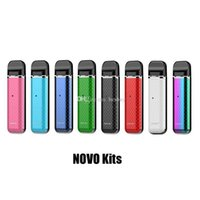 Wholesale Authentic Novo Vape Pod System Starter Kit Built in mAh Battery ml Cartridges Tank Genuine Portable Device Pen Original