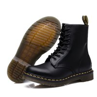 Wholesale black n white shoe boots for sale - Group buy Genuine Doc Men Men s Martens Leather Shoes Dr Motorcycle Warm Women Ankle Couple Unisex Boots T191018