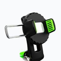держатели для чашек держатели gps оптовых-Автомобильный телефон крепление приборной панели сотовый телефон держатель для автомобиля универсальный лобовое стекло автомобиля держатель присоски держатель для смартфона GPS черный