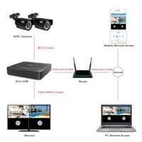 Wholesale tvl kits for sale - Group buy Electronics CH DVR CCTV System Cameras CH MP IR Outdoor Security Camera P HDMI AHD CCTV DVR TVL Surveillance Kit