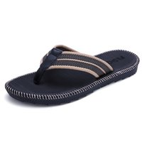 modelle flip flops großhandel-Paare Männer und Frauen Modelle Flip-Flops Sommer Korean Trend Männer Strand Männliche Drag Sandalen Und Hausschuhe Studenten Slip Clip Ziehen