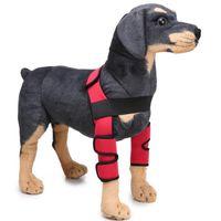 ingrosso le ghette coprono i piedi-1 paio Leggings per cani da compagnia Leggings per cani da guardia Cucciolo Ginocchiera Protezioni per i piedi Chirurgia del cane Lesioni SBR Coperture protettive in neoprene impermeabile