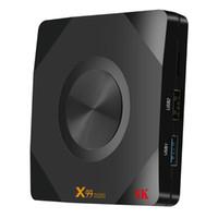 Wholesale box wifi remote resale online - X99mini TV Box GB GB Android H6 Quad Core G G WiFi Set Top Box HDMI2 LCD Digital Display Hardward D K G Remote