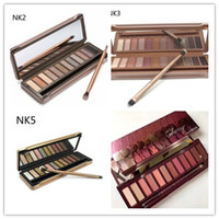Wholesale eyeshadow lowest price for sale - Group buy lowest price hot new Makeup color NUDE mix cherry eyeshadow eyeshadow palette