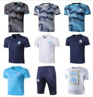 camisas de polo ropa deportiva al por mayor-De calidad superior 19 20 Olympique de Marseille fútbol Ropa deportiva Maillot De Foot 2019 Borussia Dortmund Fútbol POLO camisa