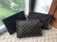 Wholesale pochette clutch resale online - X18 Louis Vuitton Fashion POCHETTE VOYAGE Clutch Women Leather Handbags Z Men Purse MICHAEL Satchel Tote Shoulder Bags Sac LOUIS