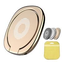 universal metal holder venda por atacado-Suporte de anel de metal de 360 graus portátil mini suporte titular para iphone x 7 plus 8 galaxy s8 s8 + nota 8 pacote de varejo