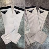 meias abertas para a moda venda por atacado-Novo Verão Aberto Toe Meias Mulheres Coreano Moda Toe Meias Pilha Algodão Bordado de Alta Qualidade Europeus E Americanos Meias Na Moda