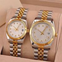 mejores regalos para las mujeres al por mayor-Reloj de diamantes de lujo para hombre mujer amantes románticos diseñador de relojes mejor regalo movimiento mecánico automático dama relojes de pulsera Montre de luxe