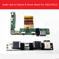 Wholesale test audio resale online - Audio Jack Power Volume Flex Cable Board For ASUS Eee Slate EP121 HDMI Power Audio Sound Button Board Replacement Tested