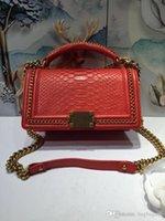 python çanta toptan satış-17top Kalite Python 42colour Cilt Marka Moda 67086 Lüks Tasarımcı Çanta Ünlü 94804 Kadınlar Çanta Omuz Çantaları Crossbody Bel