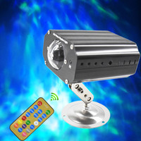 освещенные шары водные украшения оптовых-LED красочные воды пульсации света пульт дистанционного управления голосовое управление эффект фэнтези свет украшения дома волшебный шар света