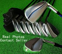 Wholesale DHL Shipping Mens Latest Model Golf Clubs P Blue Print Forged Golf Irons Kinds Steel Graphite Shaft Real Photos Contact Seller