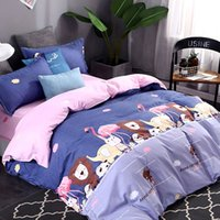 Wholesale animal bedding duvet set for sale - Group buy Animals Bedding Set Single Cartoon Creative Cute Duvet Cover King High End Queen Twin Full Comfortable Bed Cover with Pillowcase