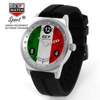 relógios gt f1 venda por atacado-GT Assista Homens Itália Bandeira F1 Esporte Assista Mens Relógios Top Marca de Luxo dos homens Relógio Relógio reloj hombre erkek kol saati
