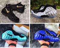 cajas de zapatos para niños al por mayor-Zapatillas de baloncesto para hombre Penny Hardaway pro para niños juveniles de espuma negro dorado azul rojo Alternate Galaxy 2.0 botas con caja original