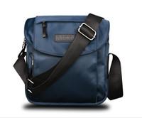 mejores bolsas de regalo de moda al por mayor-Diseñador-10 pulgadas nuevo Mens Business Casual bolsa de mensajero de diseño de moda de los hombres de la marca de bolsas de mensajero para hombre del bolso de Oxford mejor regalo de la vendimia