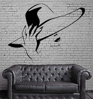 Wholesale hair salon decals for sale - Group buy Hot Sexy Girl Wall Stickers Beauty Hair Spa Salon Mural Wall Art Decor DIY Self adhesive Wall Decal Wallpaper